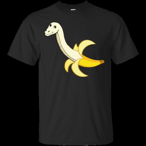 Banana Dinosaur dinosaur Cotton T-Shirt