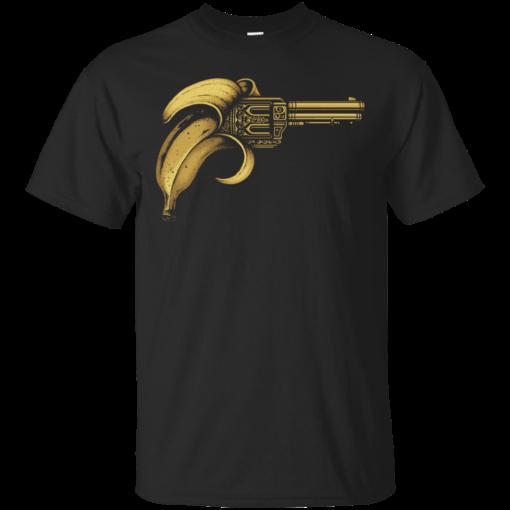 Banana Gun banana Cotton T-Shirt