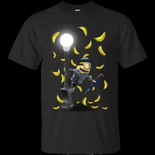 Banana Rain minions banana Cotton T-Shirt