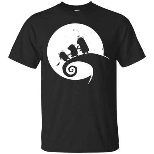 Banana before Christmas the nightmare before christmas Cotton T-Shirt