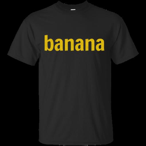 Banana fruits Cotton T-Shirt