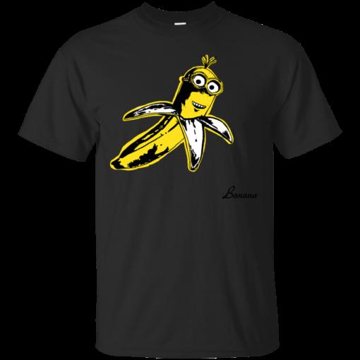 Banana graphic print art Cotton T-Shirt