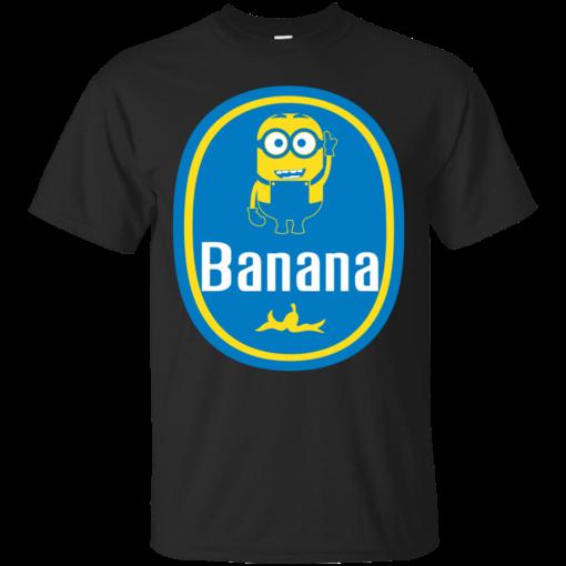 Banana minion banana Cotton T-Shirt