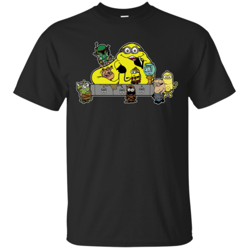 Banana the Hutt force Cotton T-Shirt