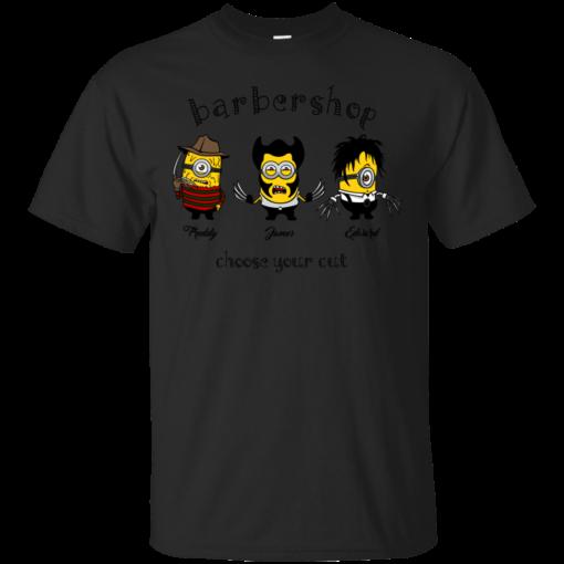 Barber Shop cartoon Cotton T-Shirt
