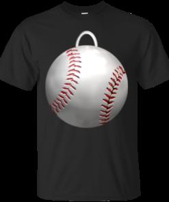 Baseball Ornament baseball ornament Cotton T-Shirt