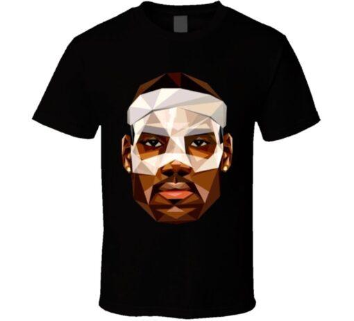 Basketball Player Lebron James Cleveland T Shirt