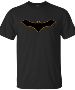 Bat Rebirth Symbol Cotton T-Shirt
