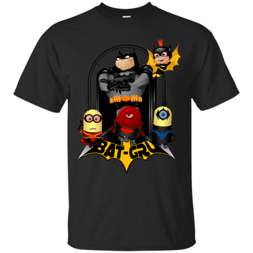 BatGru super minions Cotton T-Shirt