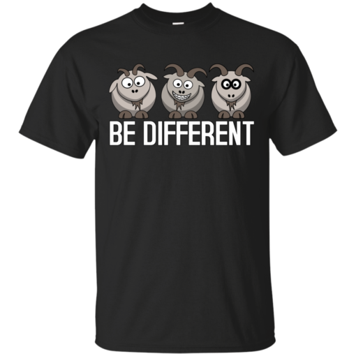 Be different camisetas geek Cotton T-Shirt