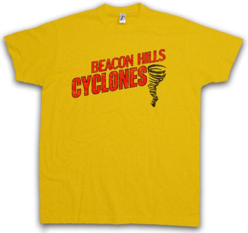 Beacon Hills Cyclones Teenager Equipment Symbol Sign Logo Wolf T Shirt