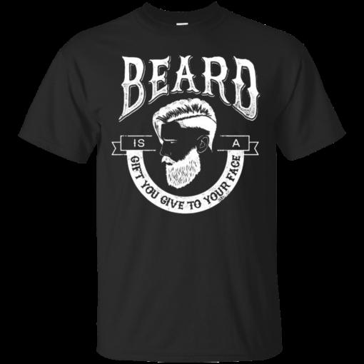 Beard The Gift U Give Retro beard the gift u give retro Cotton T-Shirt