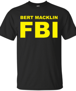 Bert Macklin FBI Cotton T-Shirt