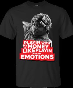 Big Worm Emotions Cotton T-Shirt