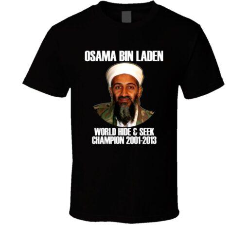 Bin Laden Hideout Funny Champion T Shirt
