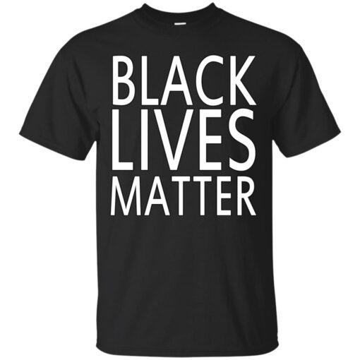 Black Lives Matter Cotton T-Shirt