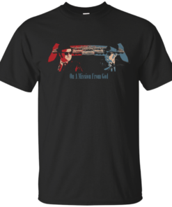 Blues Brothers Mission From God Cotton T-Shirt
