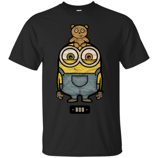 Bob the minions despicable me Cotton T-Shirt