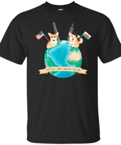Brothers From Another Mother Globe Cotton T-Shirt