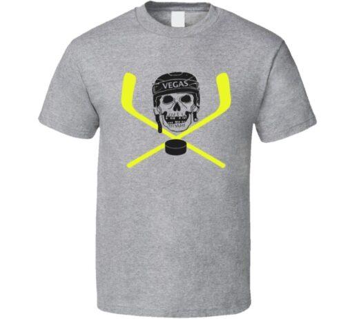 Bryce Harper Vegas Hockey Sticks And Fan Skull Cool T Shirt