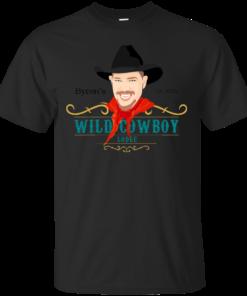 Byrons Wild Cowboy Lodge Cotton T-Shirt
