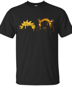 Calvin Hobbes Grime Cotton T-Shirt