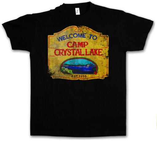 Camp Crystal Lake Sample Vintage - Horror 13 13 Friday Jason T Shirt