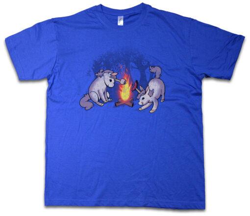 Campicorns Ii Sticker Fun Rainbow Fairy Princess Unicorn Unicorns Camping Camp T Shirt