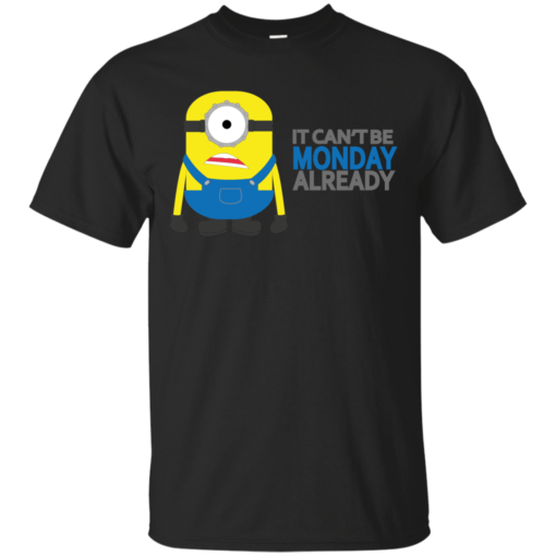 Cant be Monday character Cotton T-Shirt