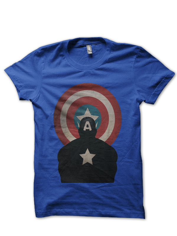 Captain-America Avg Tee T Shirt