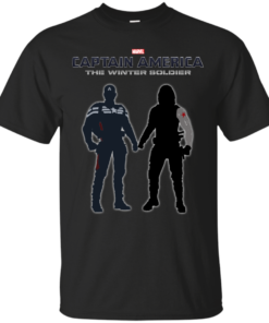 Captain America The Winter Soldier Cotton T-Shirt