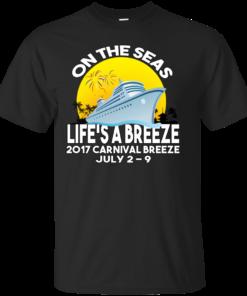 Carnival Breeze 2017 Cotton T-Shirt