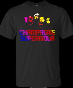 Champagne Supernova Cotton T-Shirt