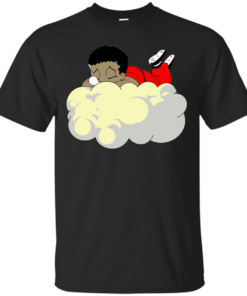 Channing Bailey Sleeping Guru Cotton T-Shirt