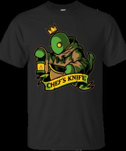 Chefs Knife Cotton T-Shirt