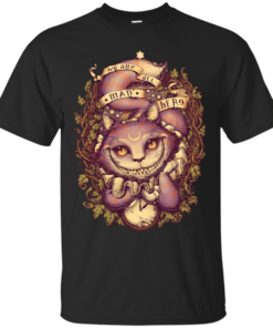Cheshire Cat Cotton T-Shirt