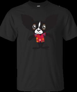 Chihuahua Hola Rico in Peace  jagged hair Cotton T-Shirt