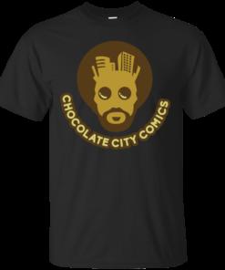 Chocolate City Comics Logo 1 Cotton T-Shirt