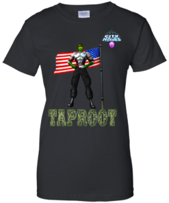 City of Heroes Tapr00t Cotton T-Shirt