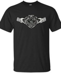 Claddagh Sacred Heart Cotton T-Shirt
