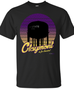 Claymont Is For Lovers Cotton T-Shirt