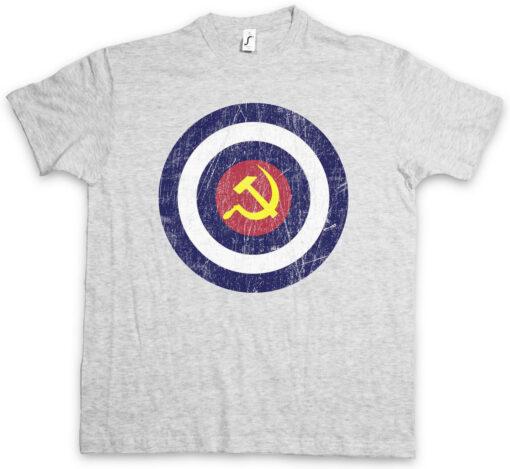 Communism Captain America Fun Socialism Hammer And Sickle Communist T Shirt