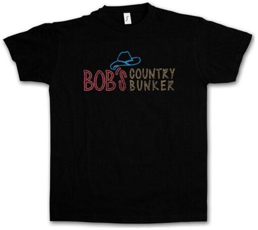 Country Bunker Bob Blues Brothers Bar Club Logo Symbol I Sample T Shirt