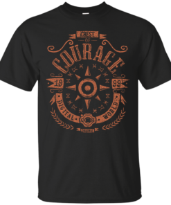 Courage Cotton T-Shirt