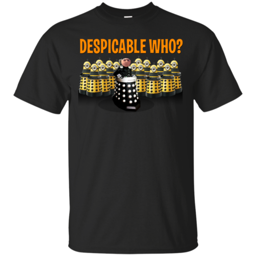 DESPICABLE WHO doctor who Cotton T-Shirt