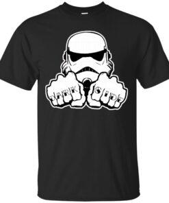 DarkSide Knuckle Cotton T-Shirt