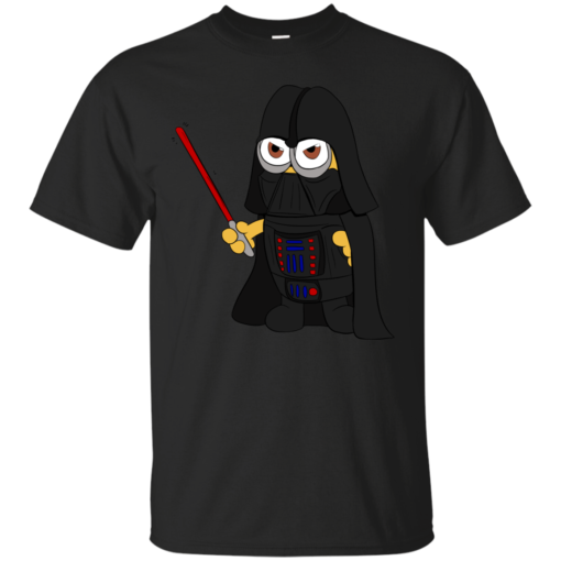 Darth Minion despicable me Cotton T-Shirt
