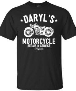 Daryls Motorcycle Repair Cotton T-Shirt