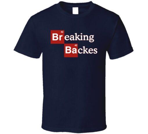 David Backes Backes Hockey Player Breaking T Shirt