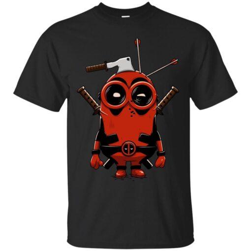 Deadpool minion Cotton T-Shirt